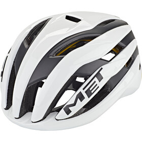 MET Trenta MIPS Casco, white/black